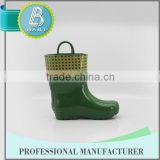 Famouse Brand Useful 100% Natural Rubber cheap beautifuls rain boots