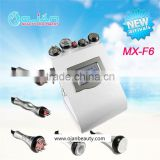 MX-F6 Portable Rf BIO Cavitation And Radiofrequency Machine Skin Firming Cavitation Slimming Machine Ultrasound Therapy For Weight Loss