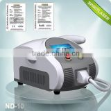 Best China hot sale!! Super Fast Color Touch Screen ND YAG skin care machine tattoo removal 10HZ