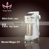 Hot 2014 Newest smart lumenis lightsheer diode laser/808nm diode laser hair removal machine