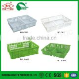 Agriculture farming plastic fish crates, chinese chicken coop, plastic chicken transport cage