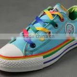colorful polyester shoelace