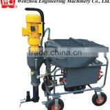 JP25 wall plastering machine for mortar, gypsum, fireproof