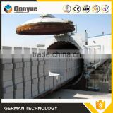 Better sound insulation autoclaved aerated concrete plant