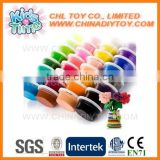 Factory direct super light bouncing putty, non toxic kids safe jumping clay, wholesale intelligent light weight clay