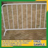 Easily assembled temporary fence for construction site fence panels