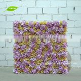 GNW FLW1508-11 Artificial Fabric Flower Wall Handmade for wedding covering decoration