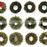 factory direct sale!!! fashionable and classic Christmas wreath with good quality and competitive
