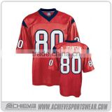 slim fit youth american football jerseys custom quick dry soccer shirts sublimated american football uniforms