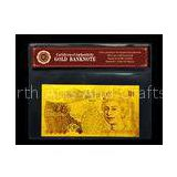 Pure 99.9% 24k GOLD Banknote 10 Pound Banknote , Includes Certificate Great Gift Present