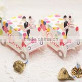 Beautiful Bag Candy Bride Groom Party Event Packing Supplies Wedding Favors gifts Luxury decoration Sugar Paper Box