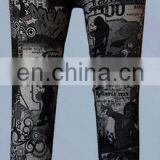 Runtowell 2013 custom design compression legging / High Quality Flare Leggings / colorful legging