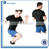Apparel Factory Clothes With Wholesale Price Men's Running Sport Wear Blank Tight Men's T-Shirts