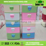 2014 new product modern plastic drawer storage cabinets