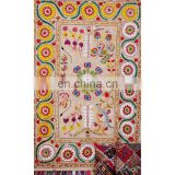 Suzani Blanket Fabric Quilt Handmade Indian Suzani Bedding Hand Embroidered Suzani Tapestry