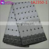 high quality african big lace fabrics LA2350