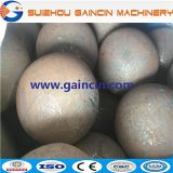 steel forged rolling media balls, 125mm, 130mm forged steel mill balls, grinding media balls