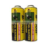 Clearance sale aerosol car can with tinplate paint can for car care