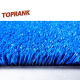Blue color outdoor artificial turf for tennis court paddle grass