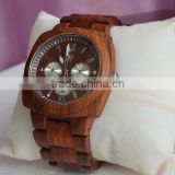 Custom logo antique solid wooden watch,wood quartz watches                                                                         Quality Choice