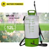 (1030) 2/3Gal no pump Li battery operated round shape water electric garden sprayer