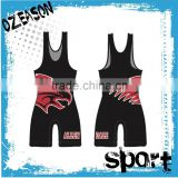 Anti-Pilling fitted blank gym mens stringer pink wrestling/weightlifting singlet                                                                         Quality Choice