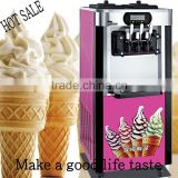 2016New hot sale stainless steel commercial CE approved ice cream making machine/ Soft Serve Ice Cream Machine For Sale