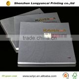gold foil stamping and spot UV graduated photo printing book in china