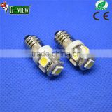 12v--24v DC car led interior light bulb Ba9s 5050 5smd for car is hottest selling