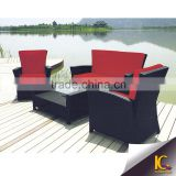 Top sale modern brick red cheap artistic leather queen anne sofa set