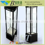 Fashion quality glass aluminium display cabinet for bijous