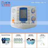 Multi-functional acupuncture point stimulator for home with electrotherapy/heating/laser/ultrasound functions