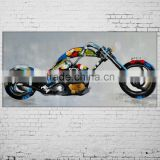 Inquiry About New Hand Painted Abstract Knife Picture Motorcycle Mural Car Oil Painting