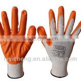 Working glove nitrile coated glove nitrile dipped gloves                                                                         Quality Choice