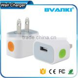 Phone Gadget New Product Wholesale LED USB Wall Charger For iPhone,5V 1A Super Fast Mobile Phone Charger,USB Charger Adapter                                                                         Quality Choice