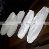 "China supplier Cheap Plastic Pe protective sleeve cover 16"" 18"" white hand made machine made"