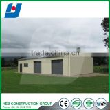 Prefabricated steel structure metal shed building for workshop or warehouse
