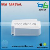 China Bluetooth 4.0 iBeacon Support IOS And Google Eddystone smallest iBeacon with AA battery holder ibeacon