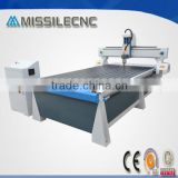 gantry movable water-cooled spindle motor cnc router for artificial board shaped cutting