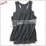 wholesale fashion design ladies singlet , fitness gym wear for women                                                                         Quality Choice