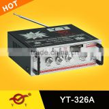 pre-amplifier Multi-zone volume adjustable power amplifier YT-326A support CD/DVD/VCD input