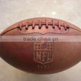 Vintage Rugby Ball Rubber Lamination