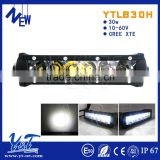 YTLB30H light bar wireless rechargeableled light bar 4D Low power consumption singerRow LED Car Working light bar