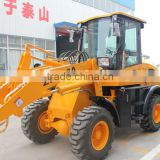 road construction material/compact wheel loader/1.5ton mini loader with quick coupler,0.7cbm bucket/ZL15F shovel loaders
