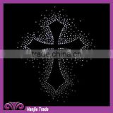 Classic Cross Crystal Iron-on Transfer For Clothing
