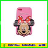 For disney style Custom Silicone 3d phone back cover case for Oppo R7s phone back case cover