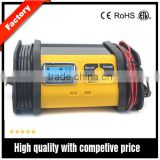 12V 10A auto Car Battery Charger Voltage Rechargeable Battery Power Charger 220V Automatic Power Supply