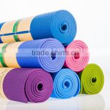 "72"" x 32"" Non Toxic, No Latex, No PVC- 100% TPE Yoga Mat 6/8mm Eco-friendly Slip-resistant"