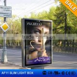 Edgelight AF11 light box outdoor waterproof free standing advertising single side LED light box made in OEM factory