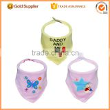 Waterproof Feeding Bib Apron Neck Wraps Infant Pinafore Cotton Baby Bibs